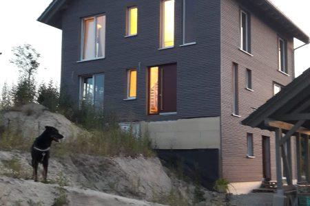 Massivholzhaus holzius
