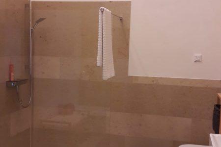 Massivholzhaus Badezimmer
